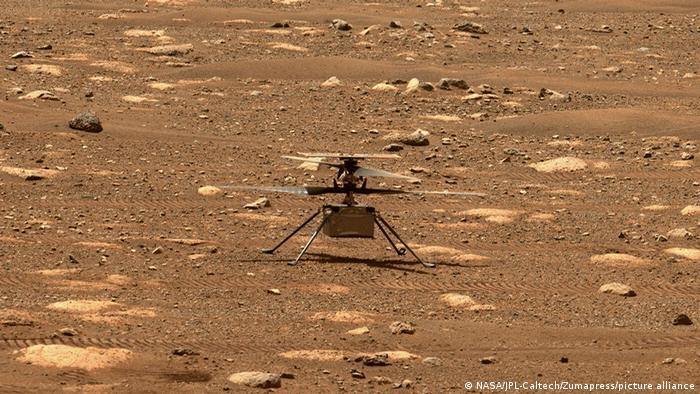 NASA: Mars'ta ilk helikopter uçuşu gerçekleşti
