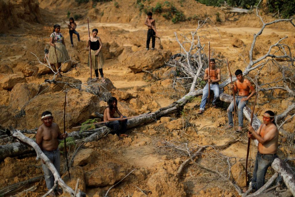"""""""Gezegeni Korumak Yerli Haklarını Savunmaktan Geçiyor"""""""
