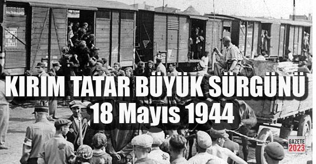 """TATAR """"SÜRGÜN-SOYKIRIMI""""NIN ACI YILDÖNÜMÜ…"""