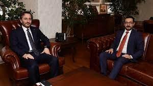 Altun'dan, AA'nın yeni Genel Müdürü Karagöz'e ziyaret